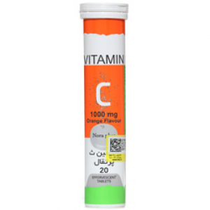 ویتامین سی 1000 میلی گرم نورا فار
